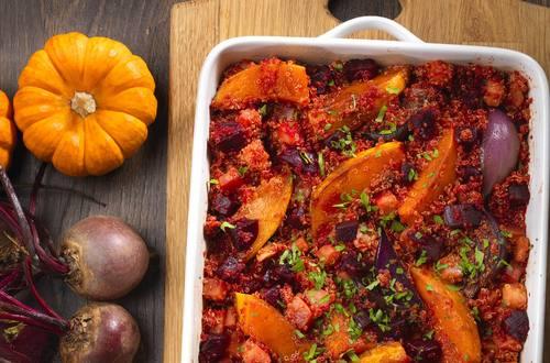 Knorr - Veganer Auflauf mit Quinoa