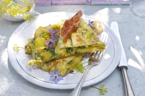 Knorr - Kräuter-Gemüseomelette mit Käse