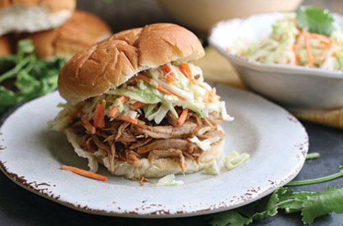 Easy Weeknight Slow Cooker Pulled Pork