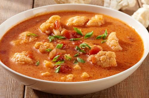Groentesoep met curry