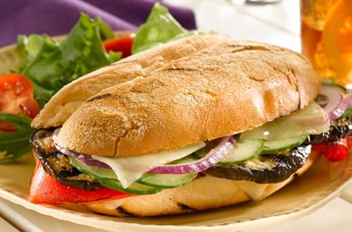 Sandwiches Cubanos Vegetarianos
