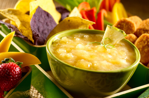 Creamy Pineapple-Lime Dipping Sauce