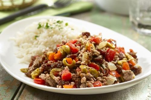 Beef Picadillo
