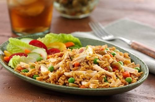 Spanish Chicken & Rice