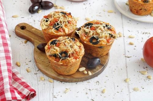 Muffin Soupe Knorr® « comme à la maison », Tomates pointe de basilic façon pizza by Julya66
