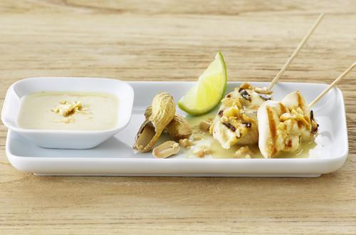 Satay-Marinade für Pouletfleisch Ausschnitt