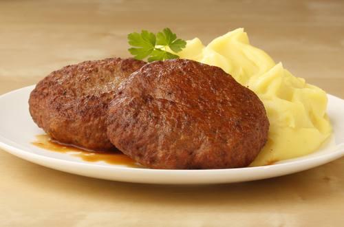 Knorr - Faschierte Laibchen mit Käse