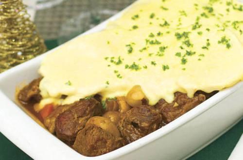 Burgundy Beef Gratin Recipe