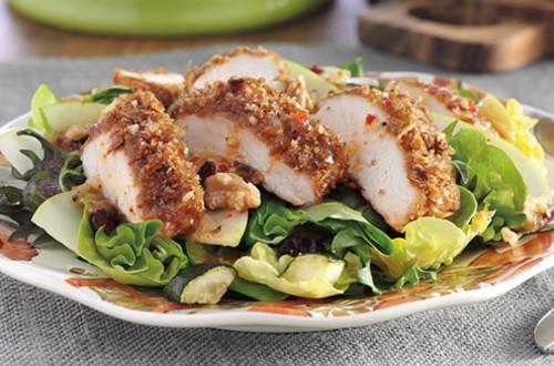 Crunchy Autumn Chicken Salad