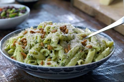 Hellmann's - Pesto Pasta Salat