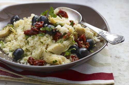 Mediterraner Couscous-Salat
