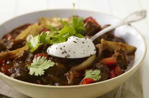 Slow-cooked oksegryde