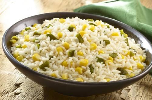Rice a la Poblana