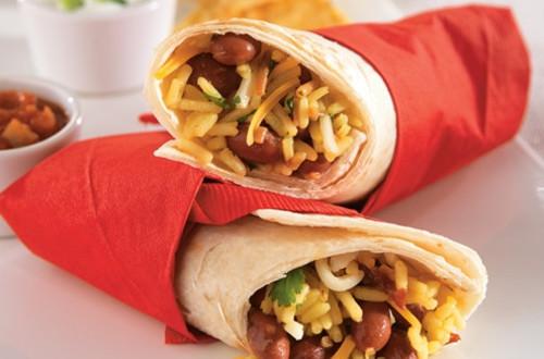 Dan's Chipotle Rice Burritos
