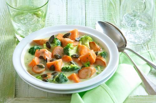 Broccoli-Süßkartoffel-Auflauf