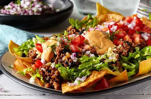 Recette de Salade de Tacos