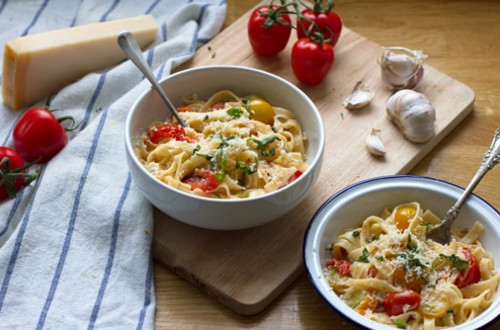 Creamy Pasta Pomodoro