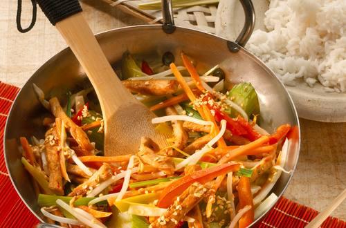 Knorr - Asiatische Gemüsepfanne