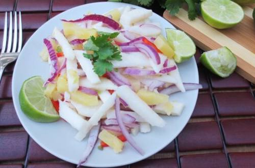 Mexican Jicama Salad