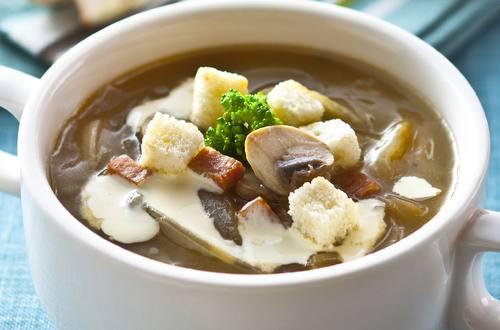 法式蘑菇洋蔥湯