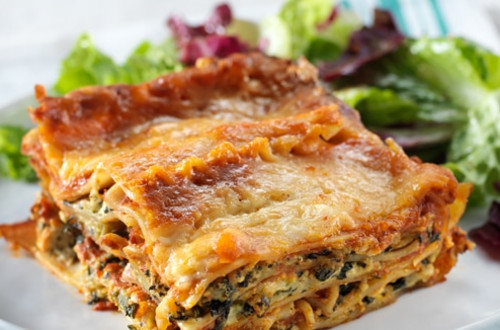 Slow Cooker Vegetable Lasagna