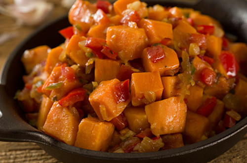 Holiday Skillet Sweet Potatoes