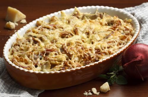 Knorr - Thunfisch-Pasta-Gratin mit Oliven und Artischocken