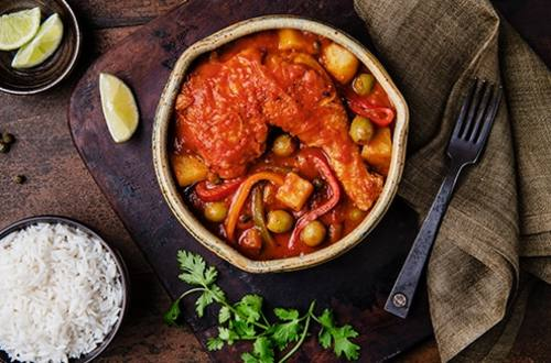 Cuban-Style Chicken Stew