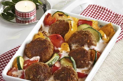 Knorr - Orientalischer Gemüse Hack-Auflauf