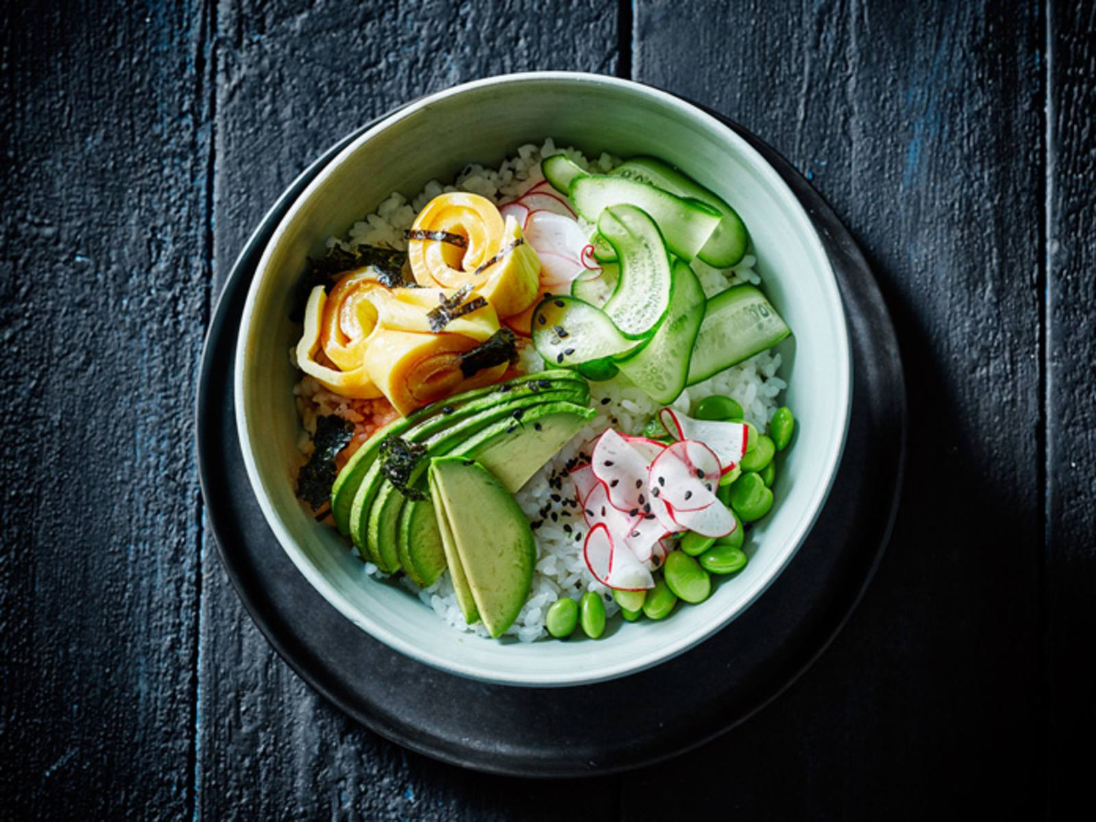 Vegetarische Poké bowl