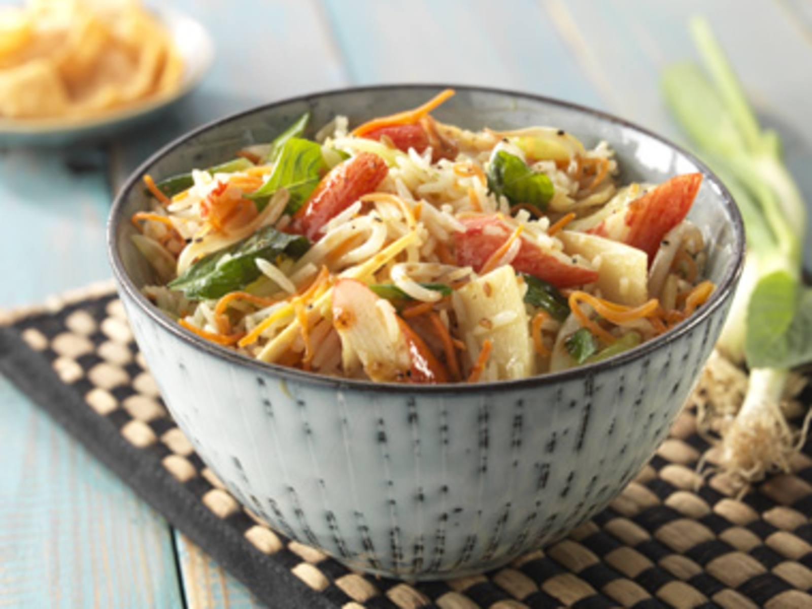 Krab met Vietnamese Soja en Black Pepper rijst