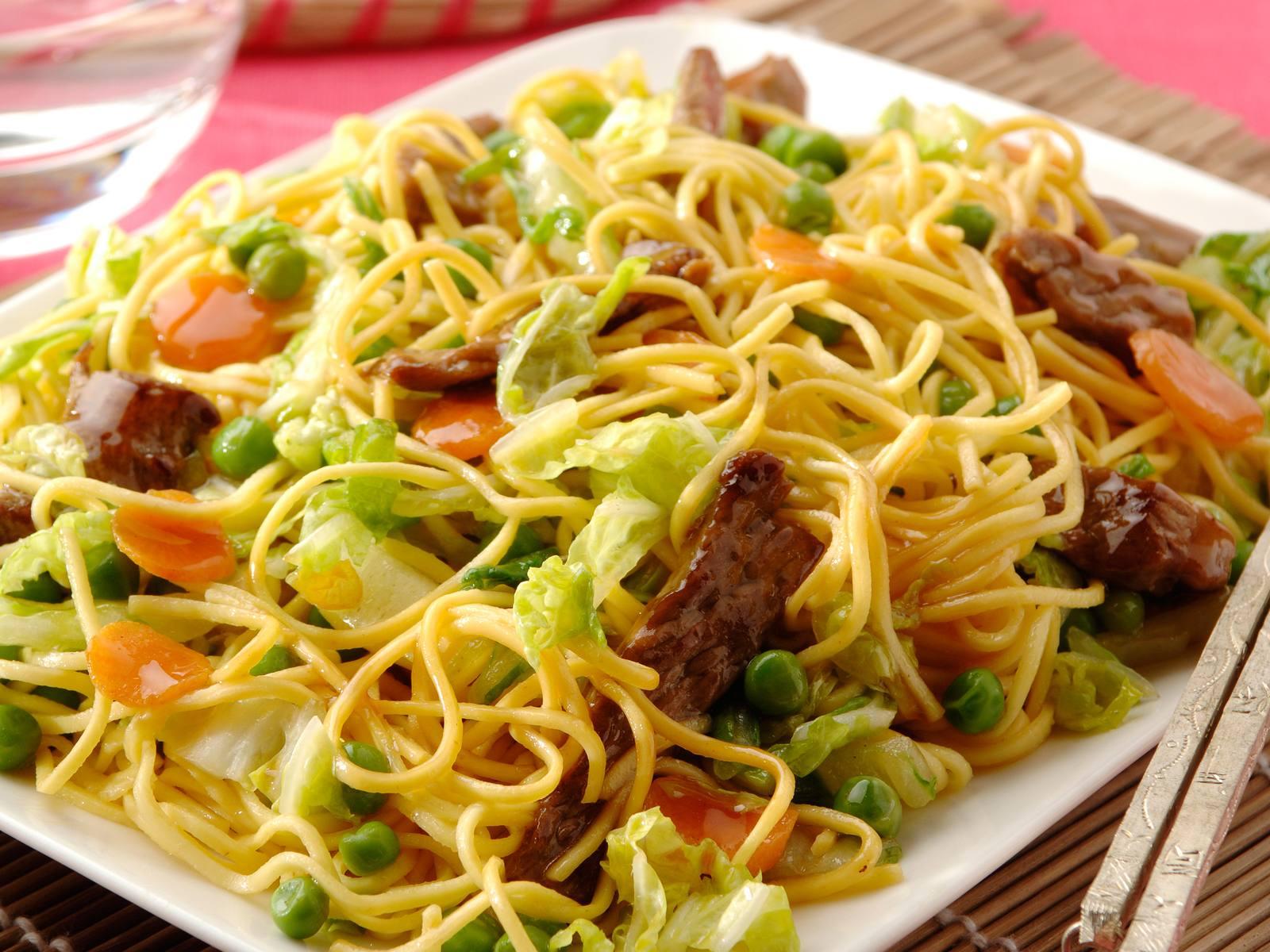 Chinese Five Spice mie met rundvlees