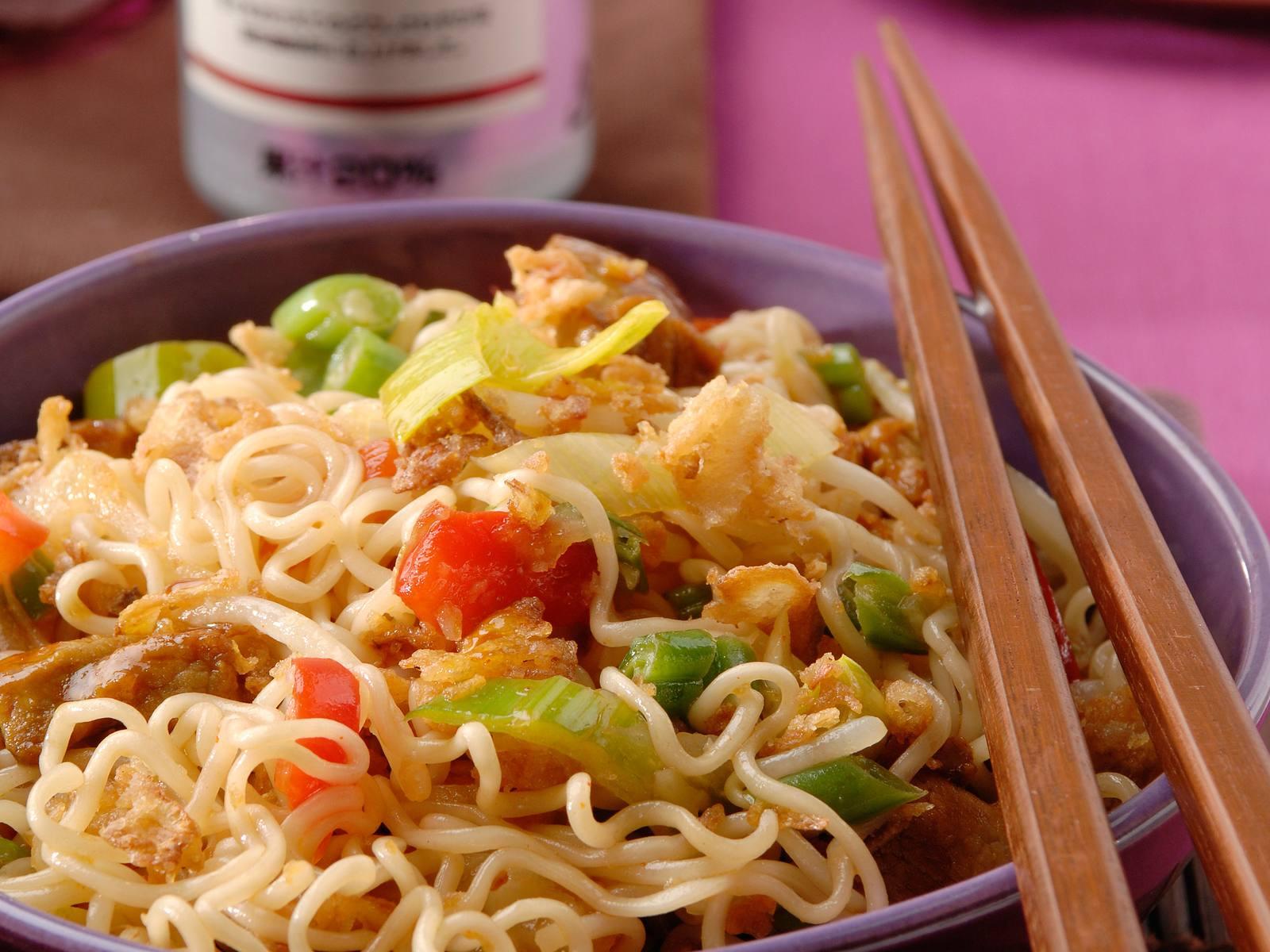 Sweet Chili noedels met Chinese groenten