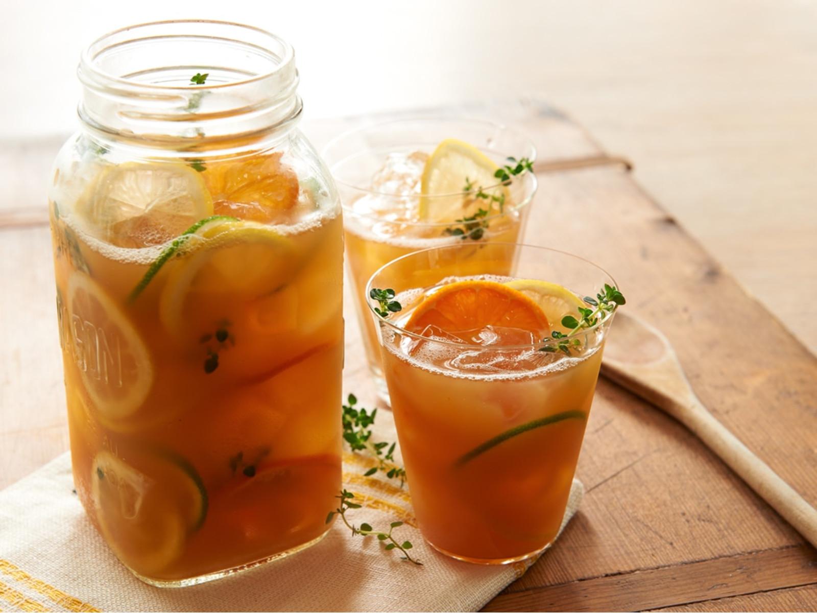 Citrus-Thyme Iced Tea