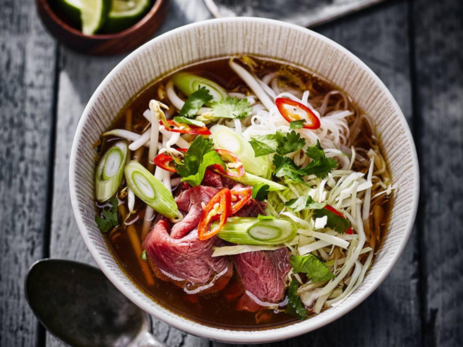 Pho Bo Vietnamese Noodle Soep