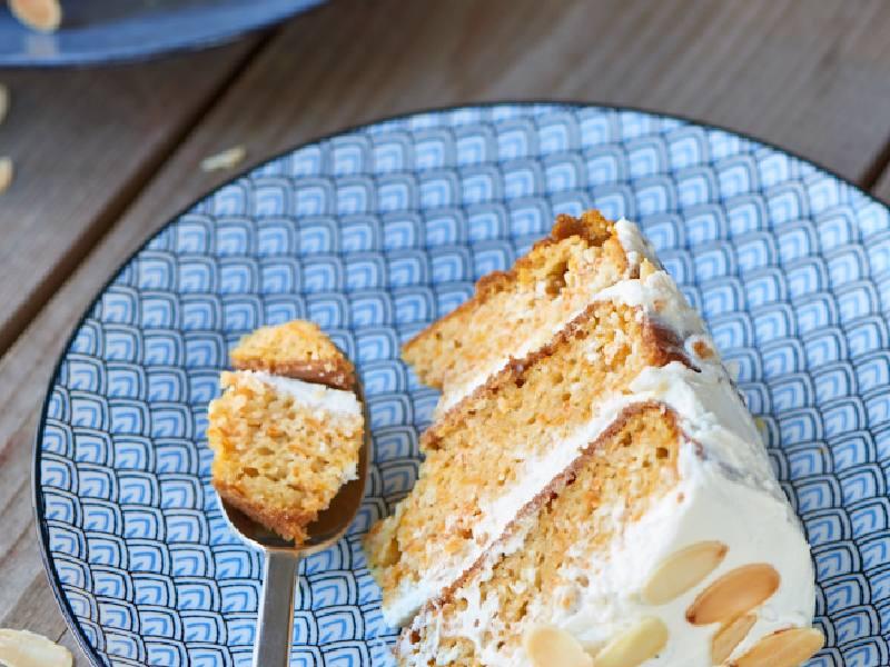 Carrot cake au lait d'amande