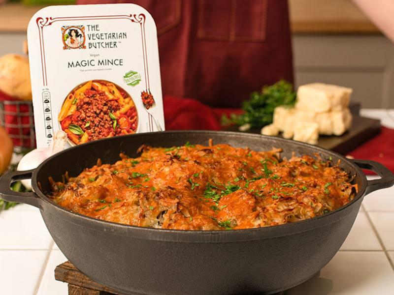 Magic Mince Vegan Cottage Pie Recipe Unilever The Vegetarian Butcher
