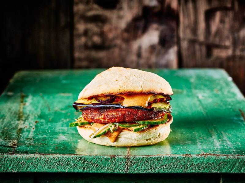 Tandoori Chickened Out Burger