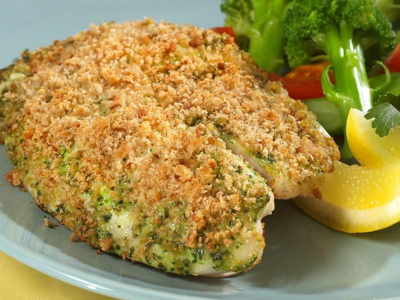 Gremolata-Crusted Tilapia