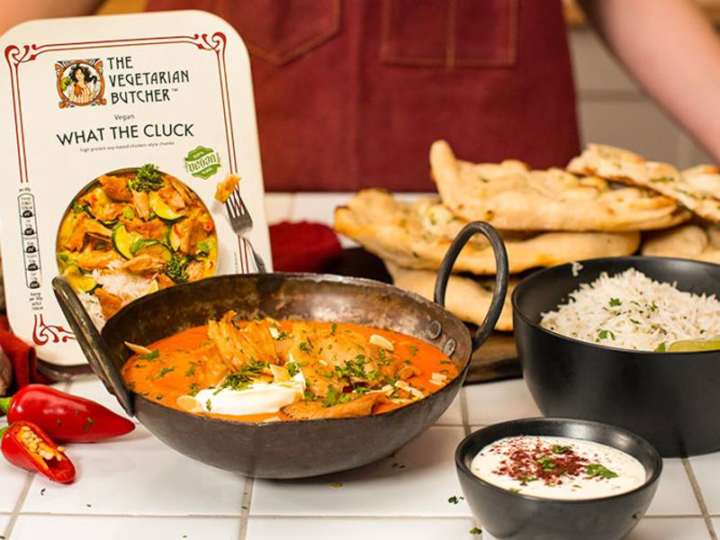 What The Cluck Mild Vegan Tikka Masala Recipe