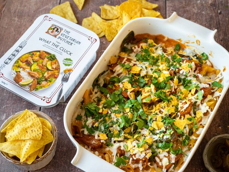 Mexican What The Cluck Pasta Bake
