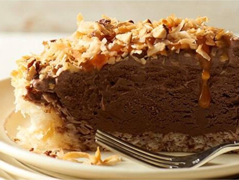 German Chocolate Ice Cream Pie