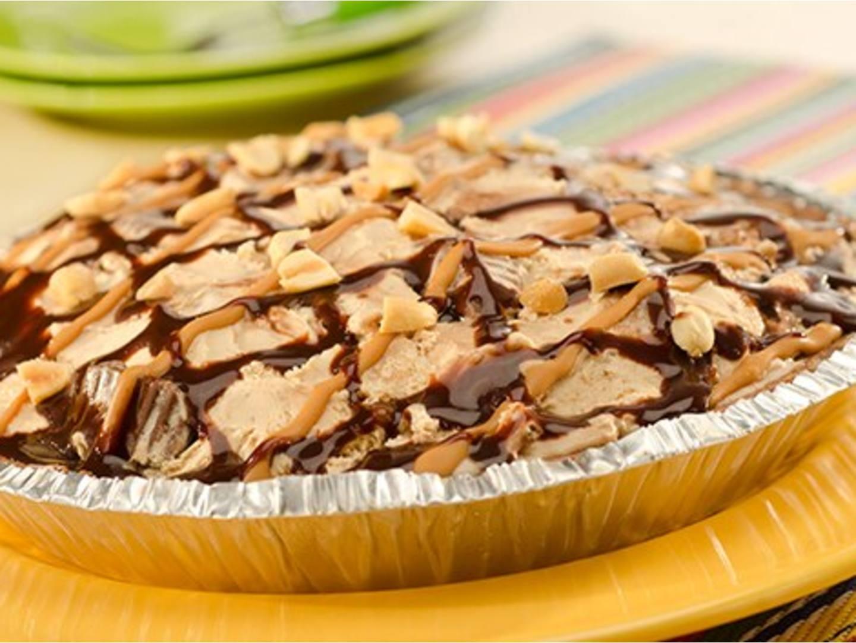 Peanut Butter Lovers Ice Cream Pie