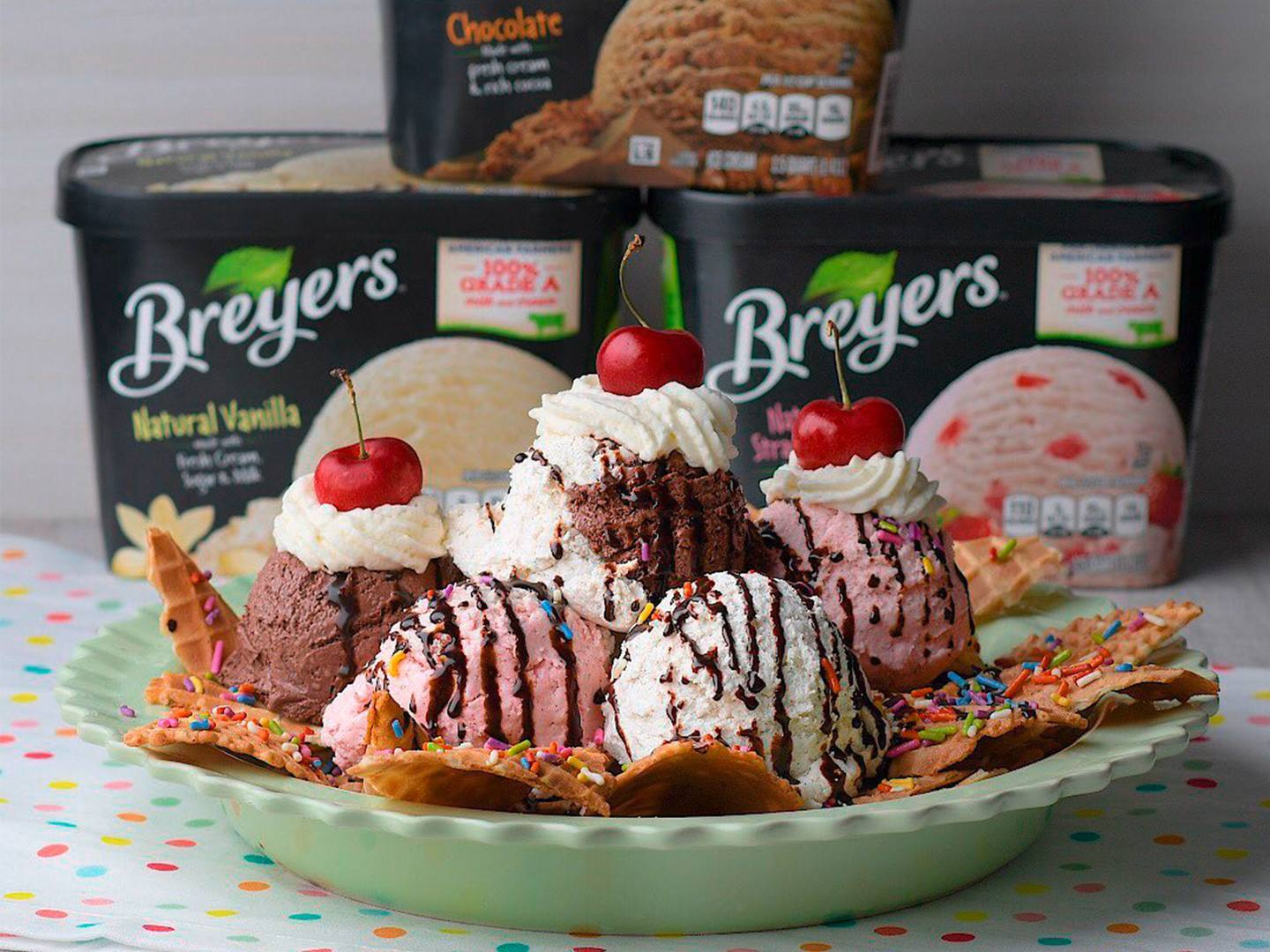 Breyers® Ice Cream Nachos Recipe