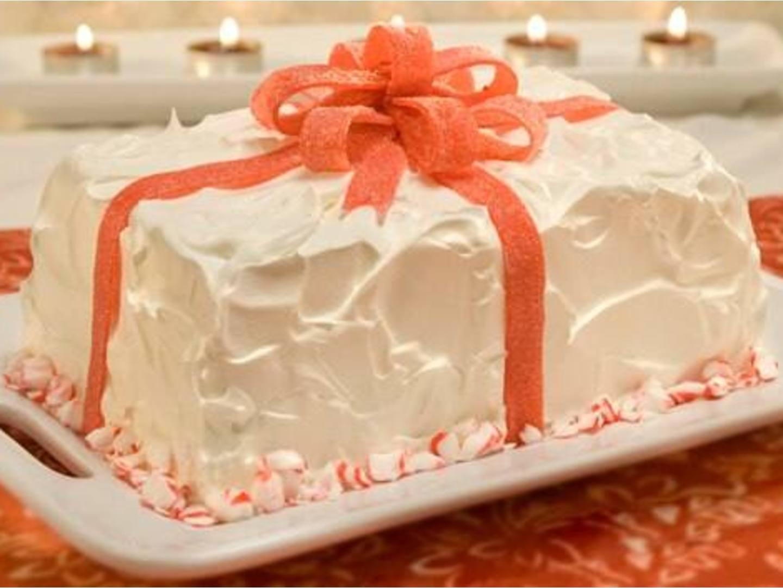 Gâteau Glacé Emballé à la Menthe