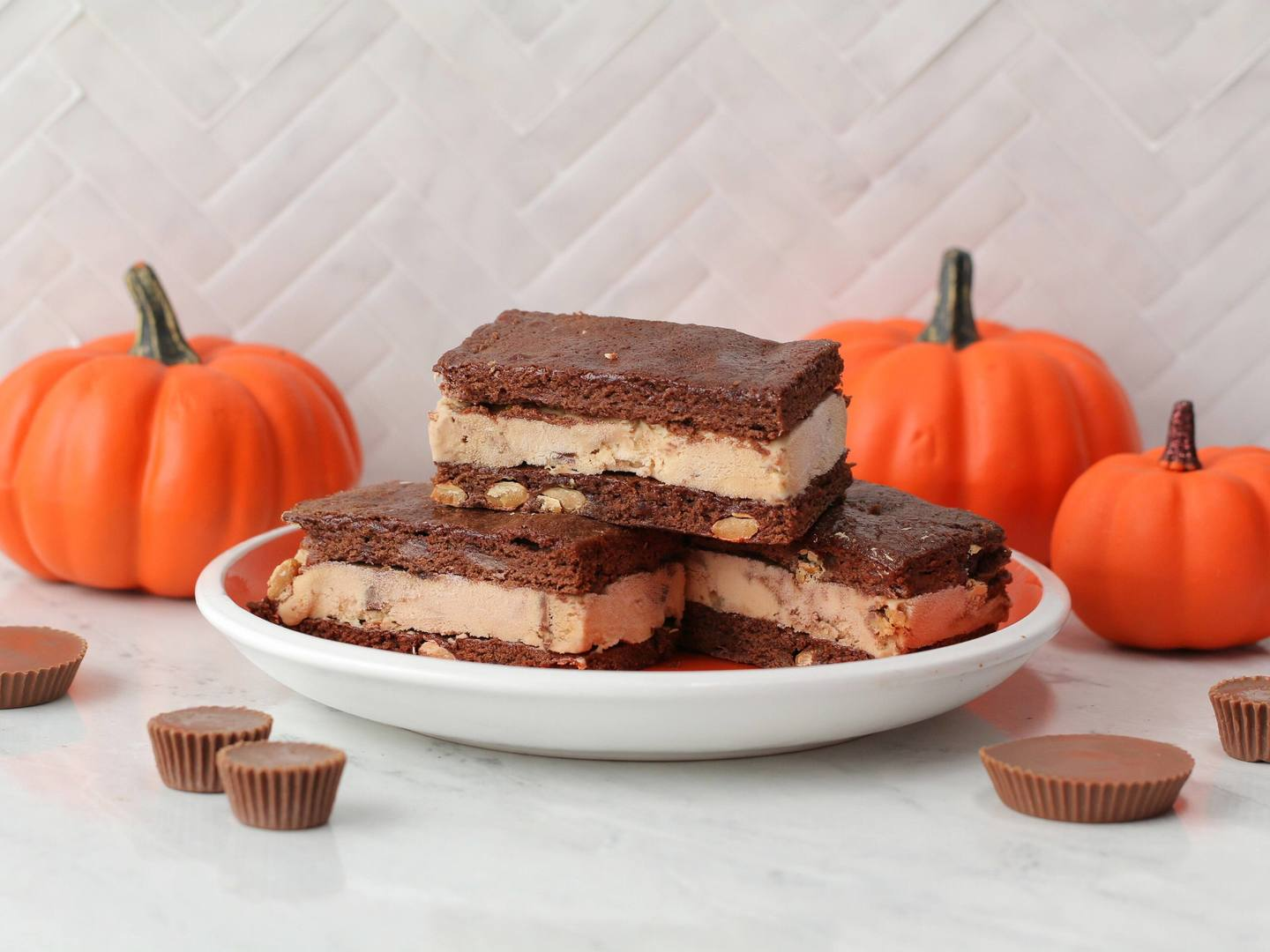 REESE'S Brownie Sandwiches Recipe