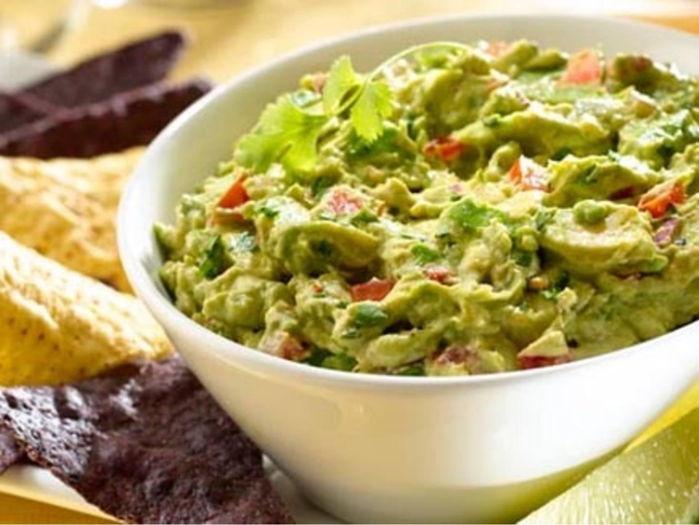 Dip de chipotle y guacamole