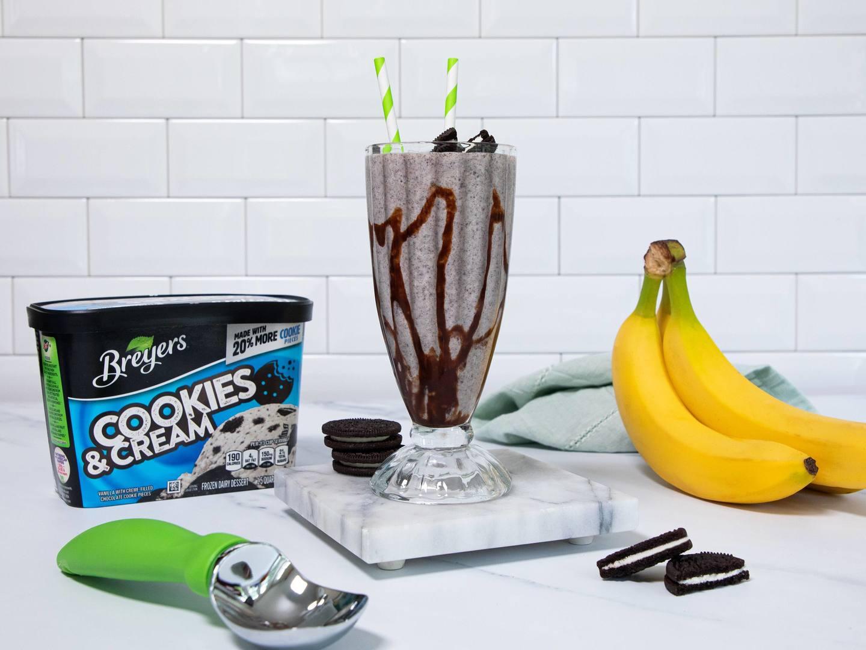 Batidos de banana y Cookies & Cream