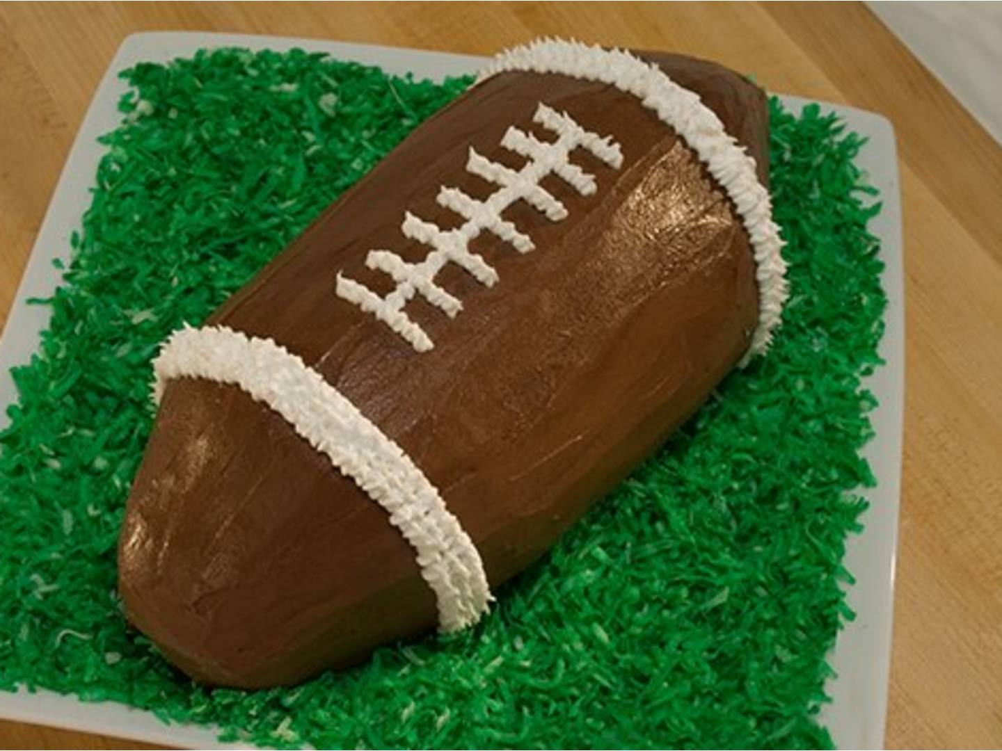 Football Ice Cream Cake