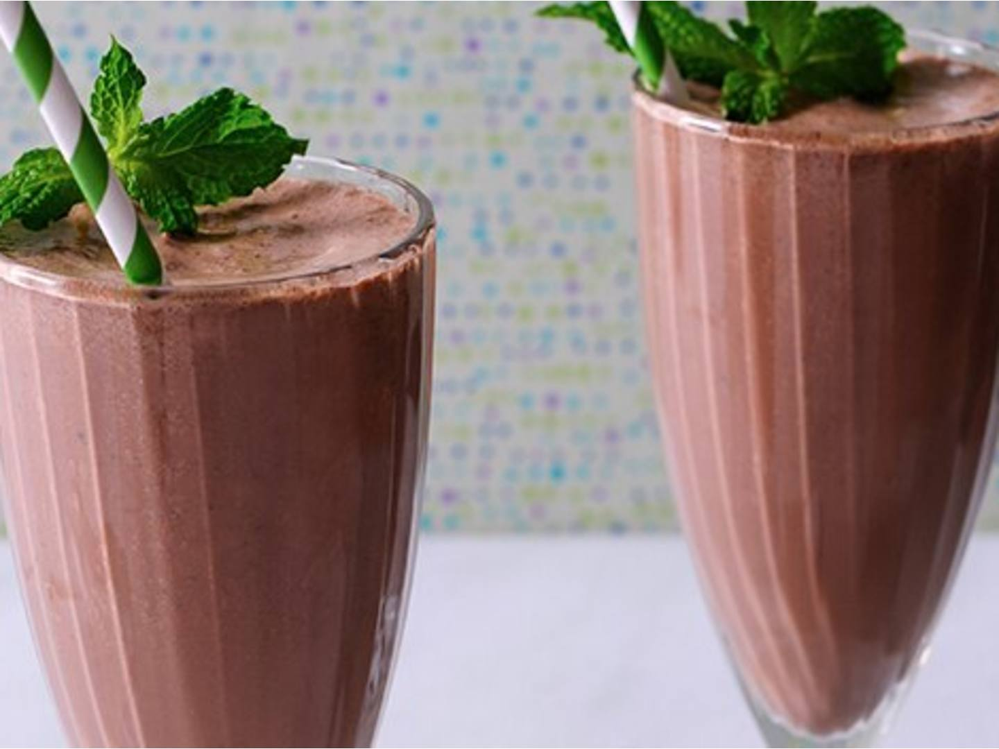 Thin Mints Milk Shakes